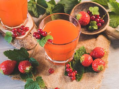Jus de fruit bio pour une nutrition saine