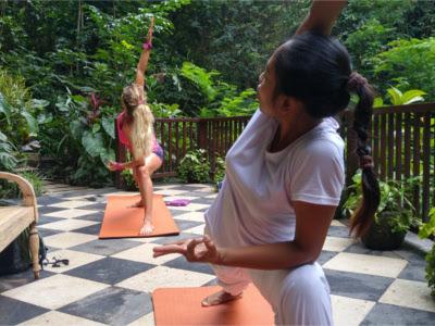 Cours de Yoga de Véronique Girard